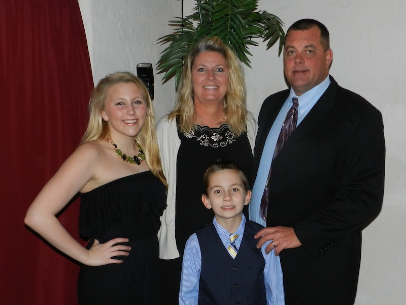 President Darrin Crook - Family Picture